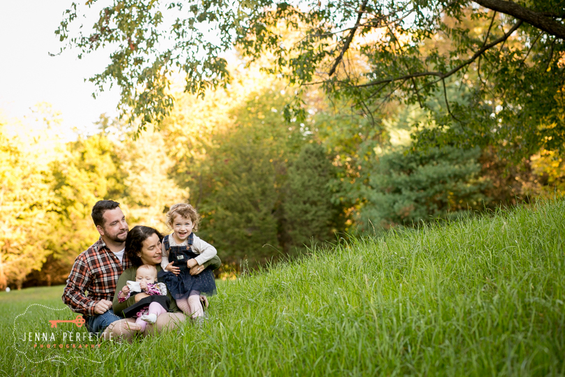 Fall Family Photo Shoot in Central NJ