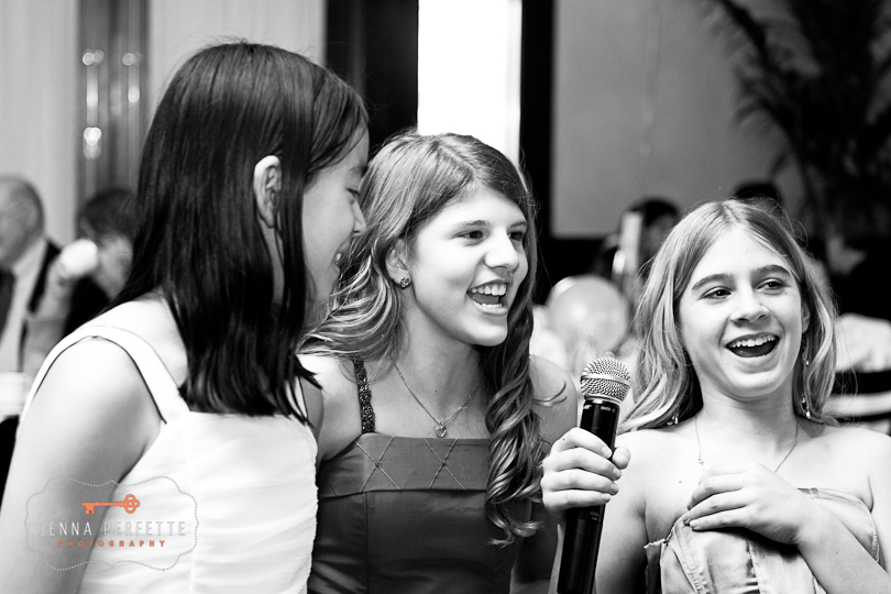 Temple Beth-el Hillsborough, NJ Bat Mitzvah Bridgewater New Jersey black and white photos relaxed pictures