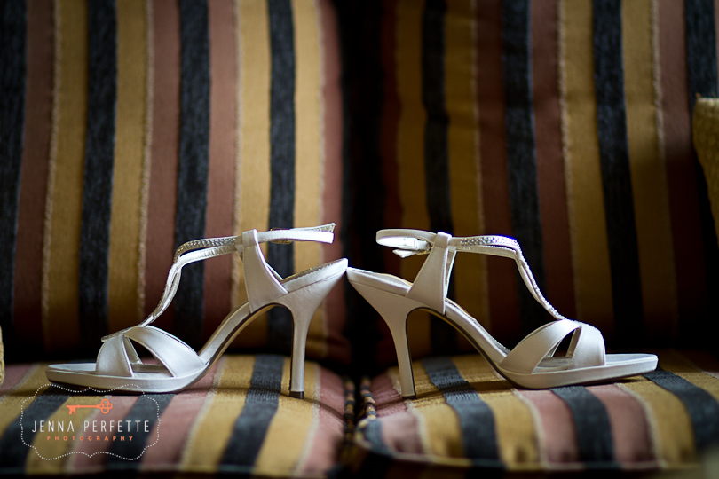 shoe wedding details central nj