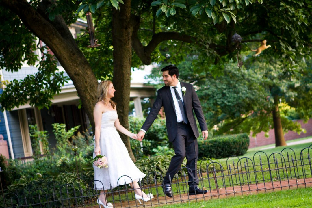 intimate wedding at new jersey main street manor