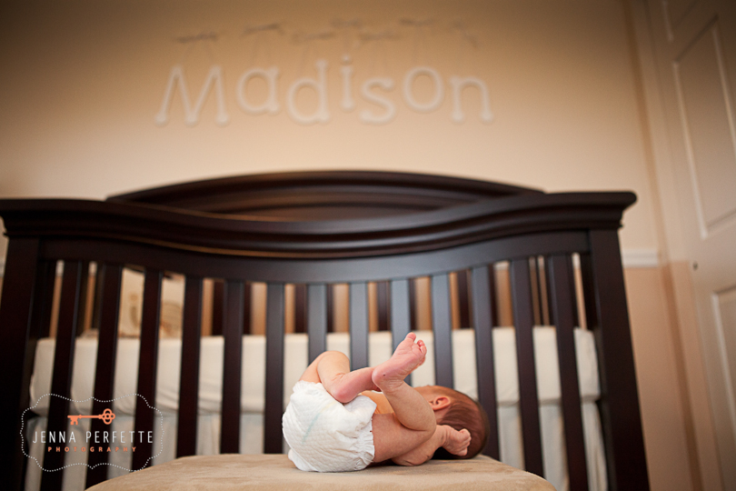 name on wall diaper baby pictures newborn photography somerville nj