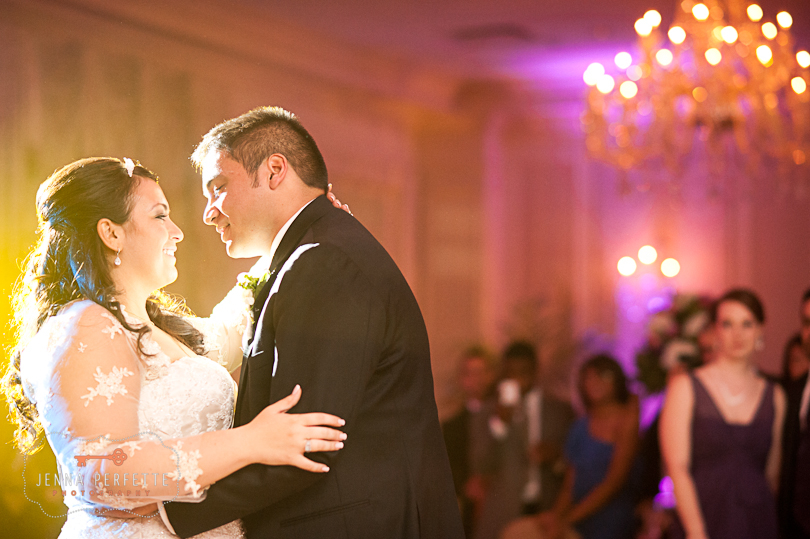 first dance husband and wife somerville wedding photographer - meadow wood manor nj wedding