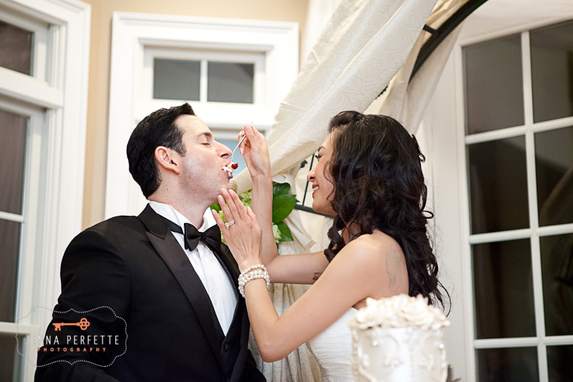 home wedding spring photography - bergen county private estate luxury wedding photographer new jersey mendham