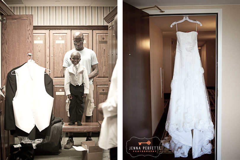 piscataway nj wedding photographer - getting ready at royce brook golf club