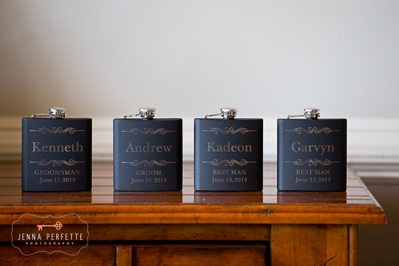 piscataway nj wedding photographer - groomsmen gifts