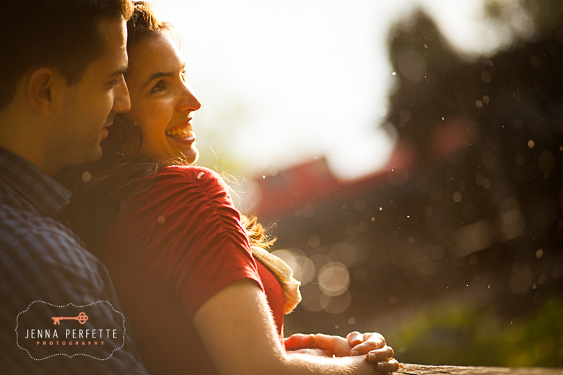 Intimate and natural lambertville engagement session photography - best affordable nj photographer