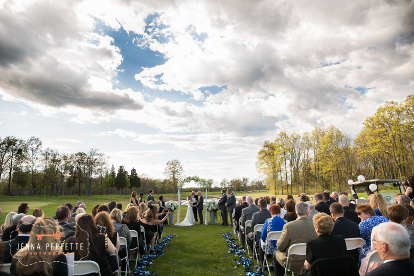 golf club wedding navy blue themed wedding manville nj country club nj wedding spring outdoor wedding nj tent wedding nj (27)