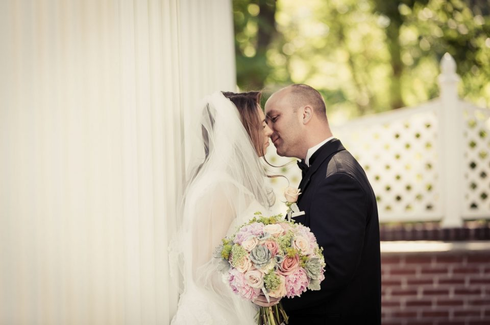 Dreamy Affair for a Shadowbrook Shrewsbury Wedding