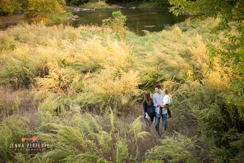 beautiful expecting mother new jersey outdoor maternity session natural photography