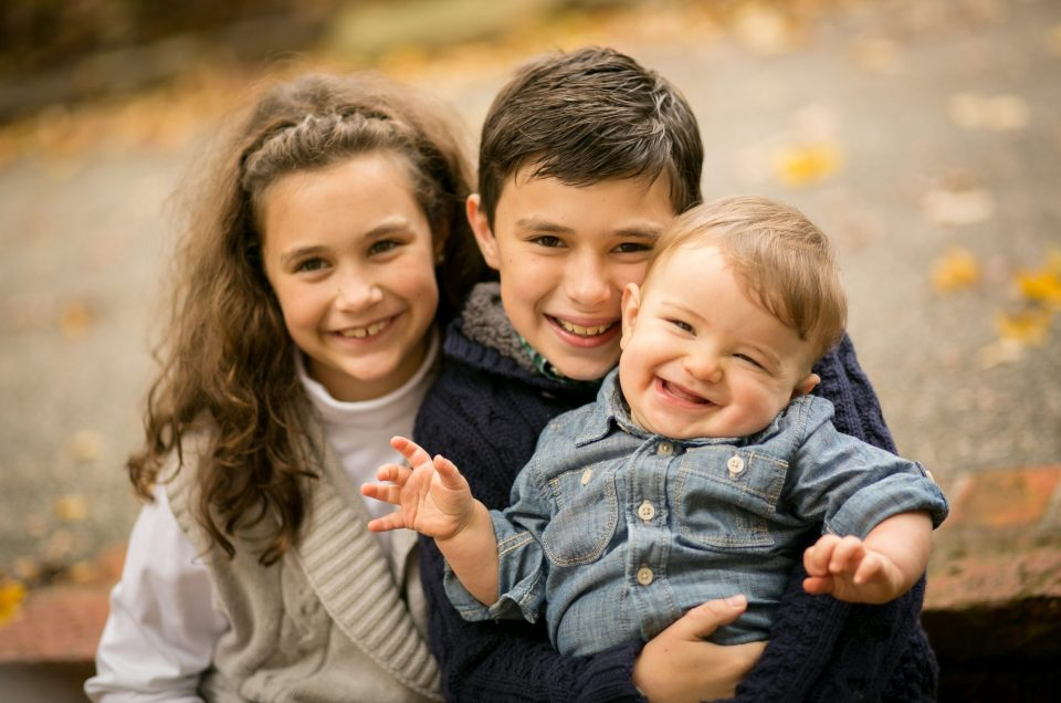 The Redmond Family Photography Session in Autumn