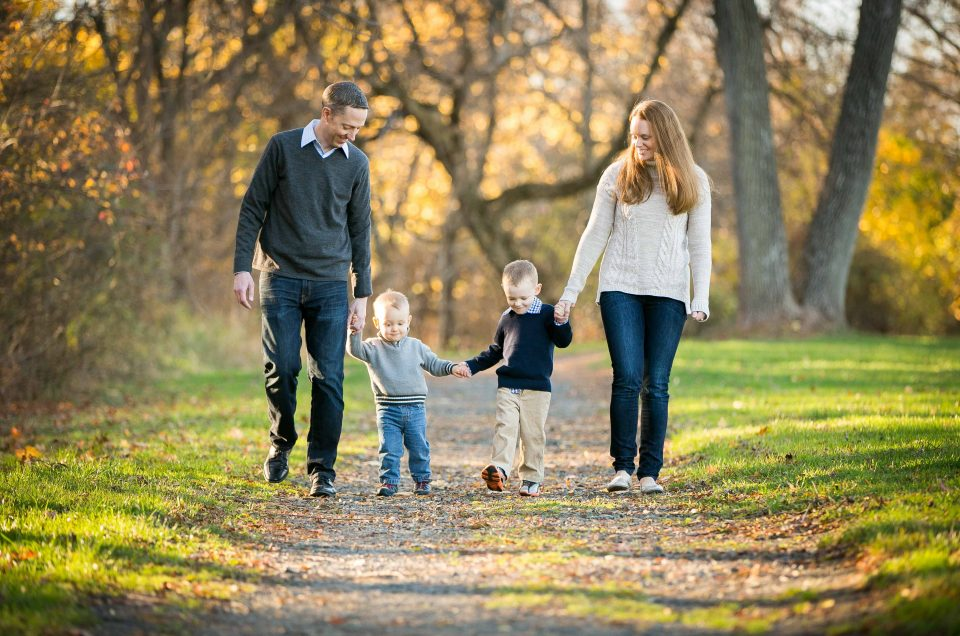 A Family Photo Session in Fall
