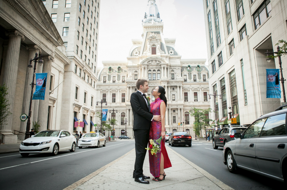 Intimate Philadelphia Wedding – Flora & Matt