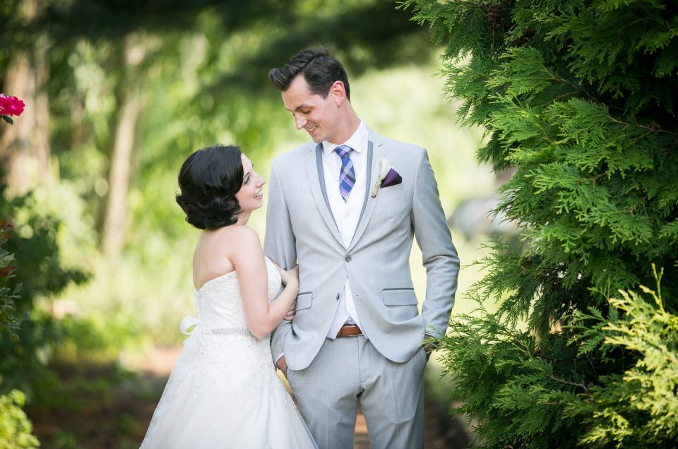 Kathy & Kyle – Fun and Elegant wedding at Lambertville Station Inn