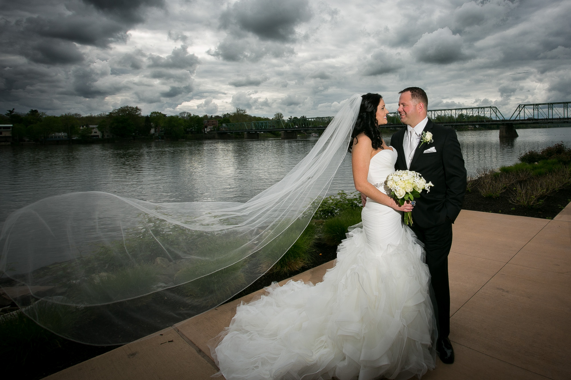 Delaware Riverside Wedding Photographer NJ - Jenna Perfette Photography