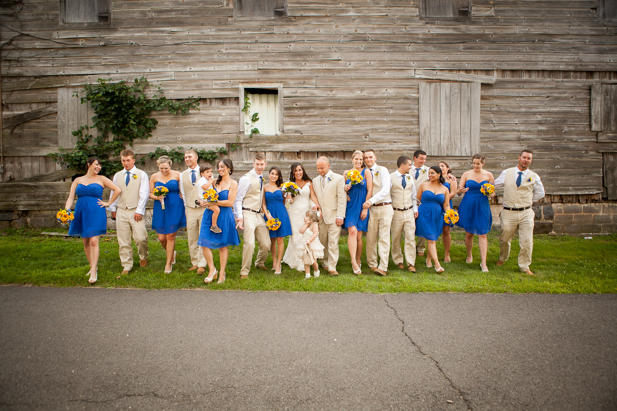 Jenna Perfette Photography - Big Bridal Party Photography in NJ