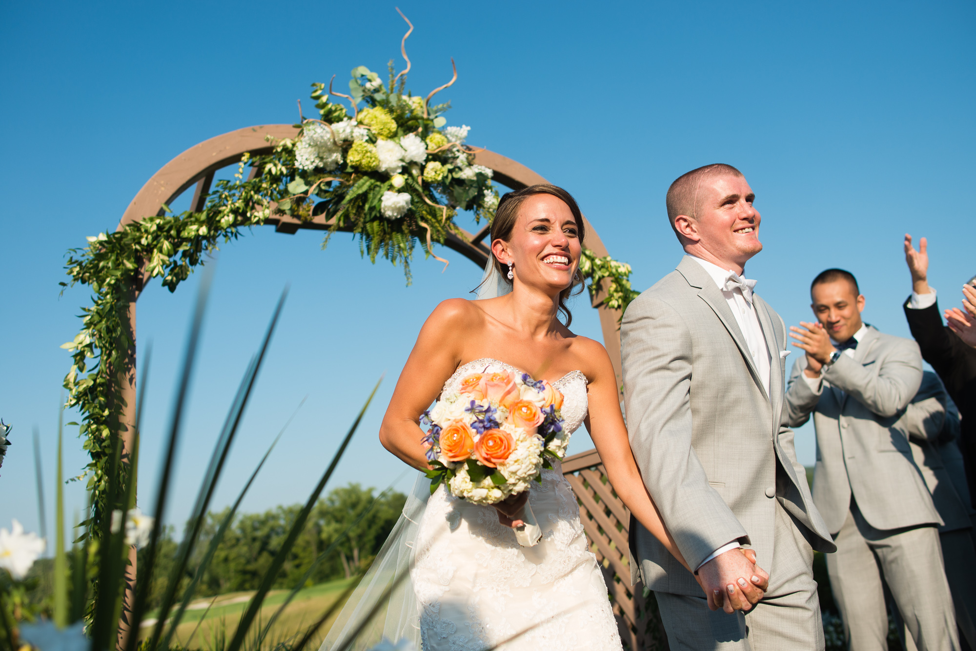 Outdoor Wedding Photography in Central NJ - Jenna Perfette Photography