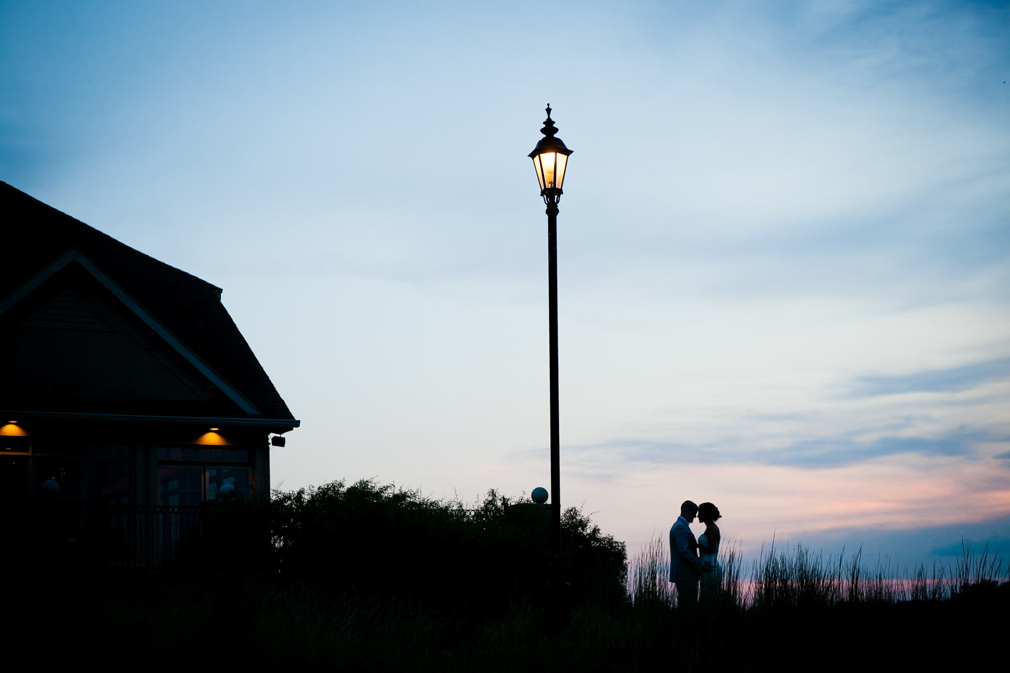 Stunning Sunset Wedding Photography - Jenna Perfette Photography - Basking Ridge NJ