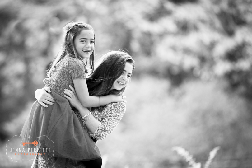 new jersey central nj sister photo shoot mothers day present daughters outdoor