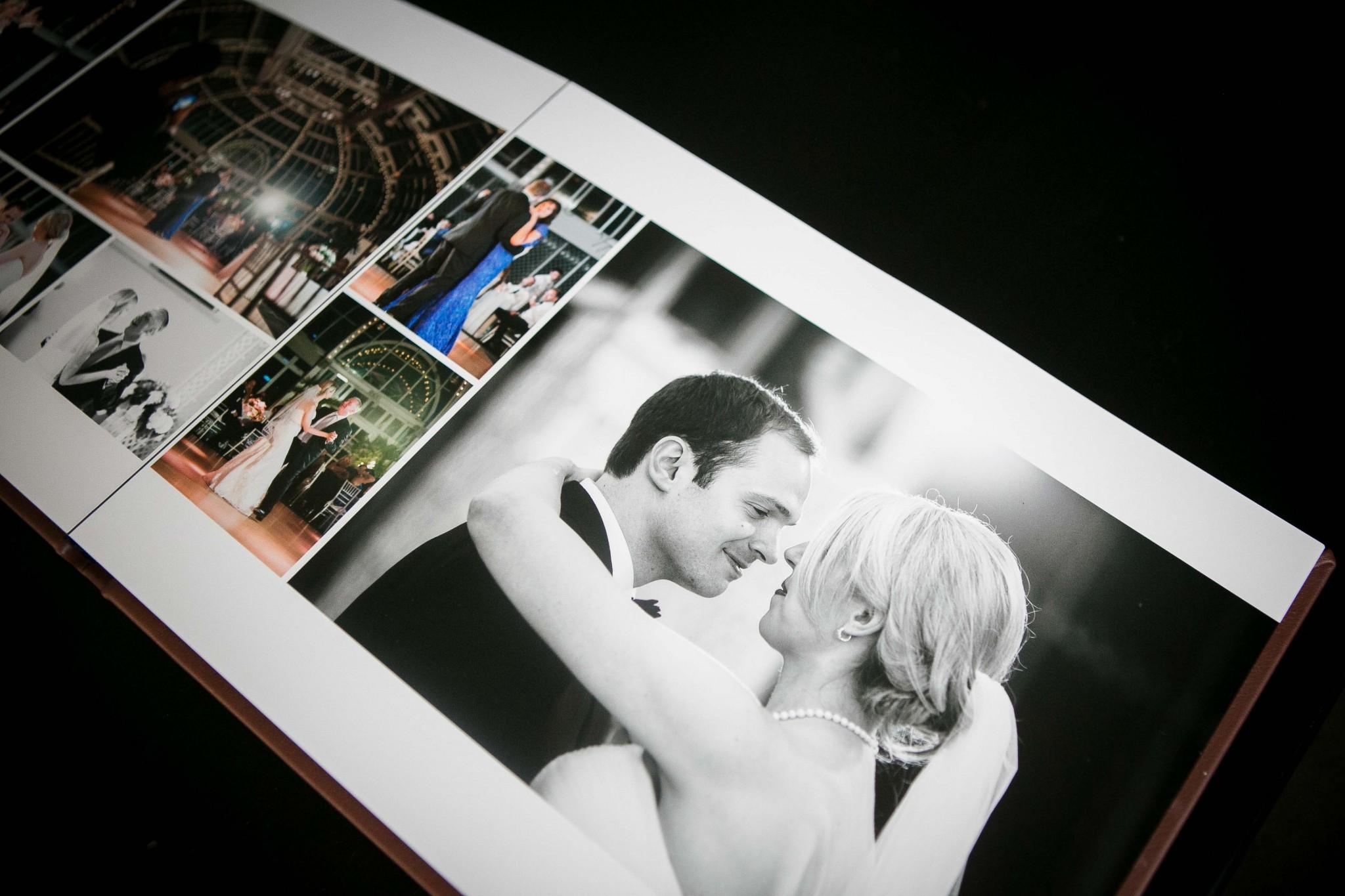 Treasured Memories Leather Bound Wedding Album Jenna Perfette