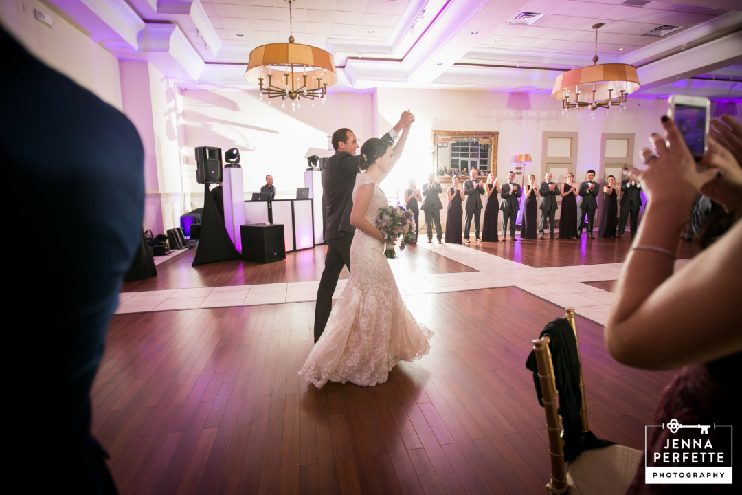 Stone House at Stirling Ridge Wedding Reception Photography Warren NJ