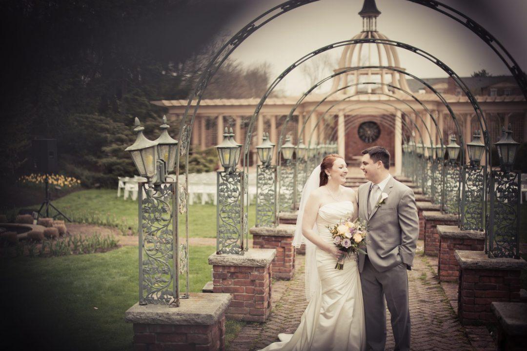 Manor West Orange Wedding Outdoors