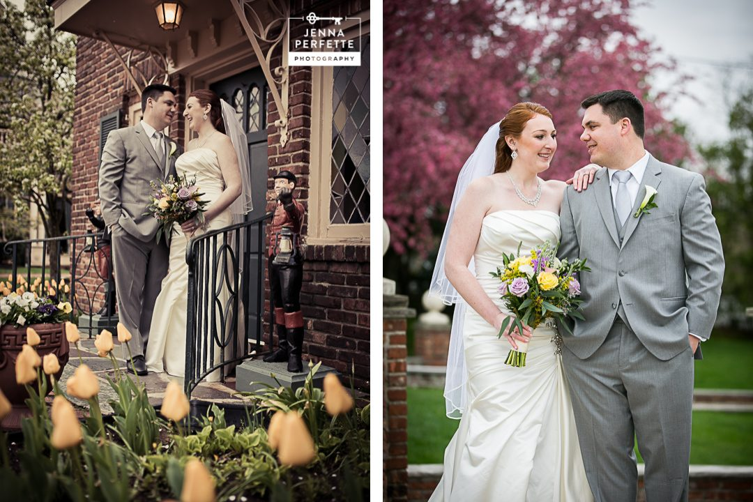 Spring Wedding at the Manor in West Orange