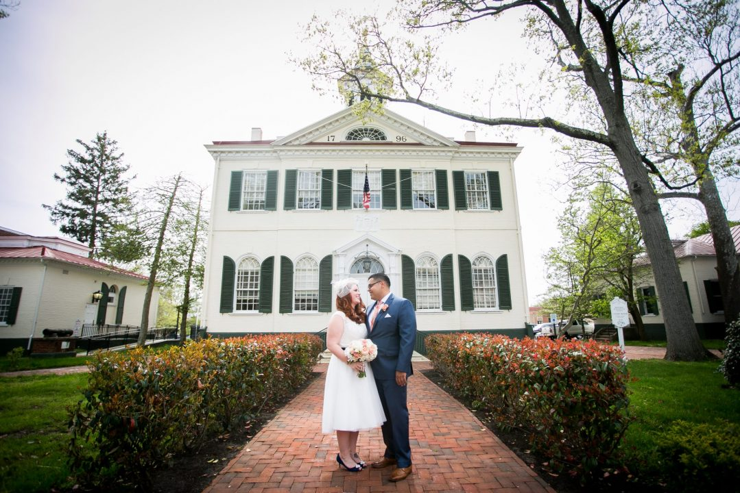 Simple & Classic New Jersey Courthouse Wedding Photography