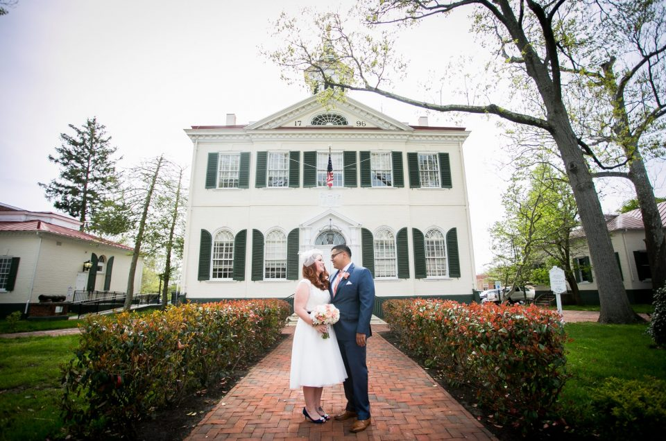 New Jersey Courthouse Wedding – Evelyn & Eder