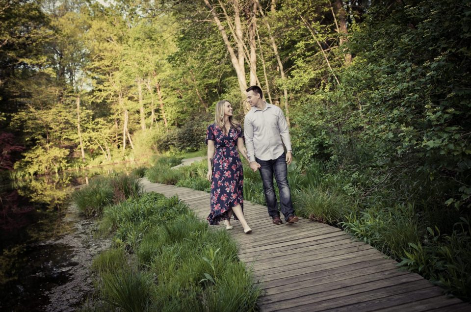 Leonard J Buck Engagement Session in Spring