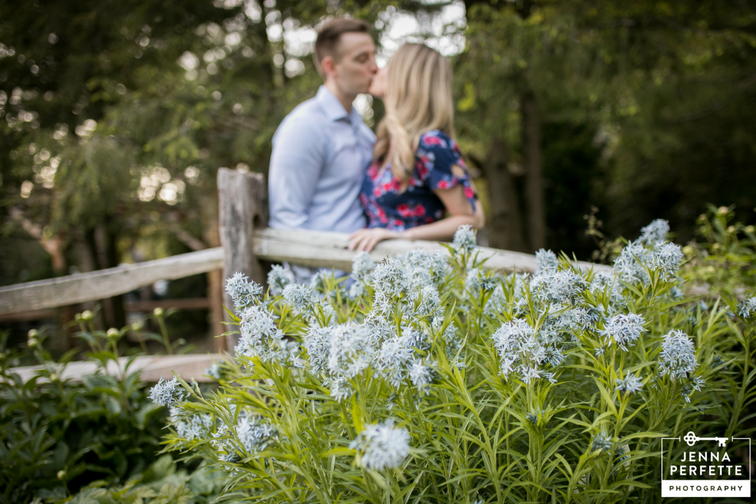 Leonard J Buck Garden Engagement Session in Spring (1)