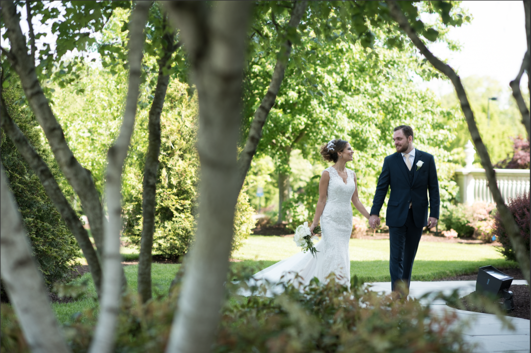 Stunning Modern Wedding Photography at The Palace at Somerset Park