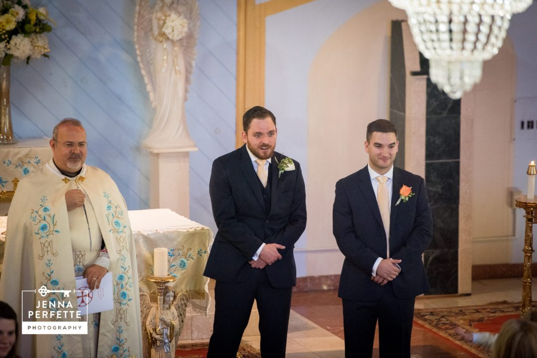 Traditional Religious Wedding Ceremony Somerset Park NJ Wedding Photography-2 first look