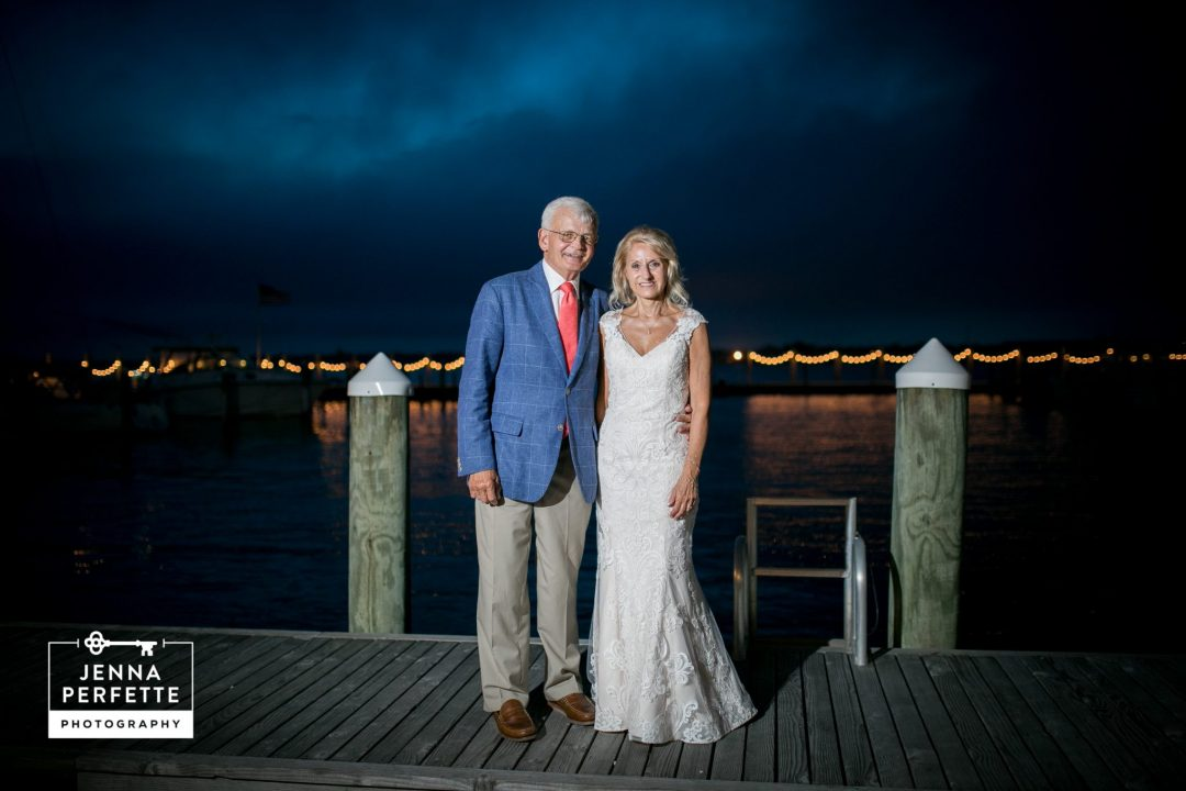 mantoloking yacht club wedding nj photography - mature wedding second marriage