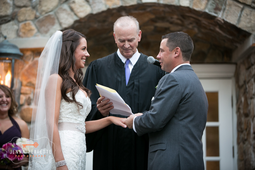 Classic Olde Mill inn wedding photography in basking ridge nj ceremony
