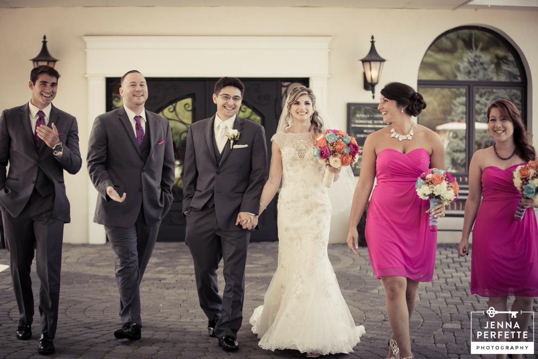 Colorful Outdoor Barn Wedding at Perona Farms NJ Photography - Jenna Perfette photographer
