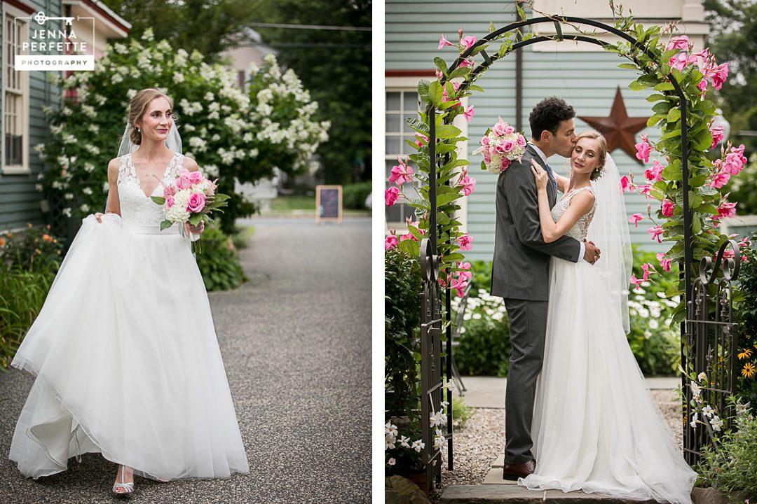 Intimate Fairy Tale Garden Wedding Main Street Manor Flemington NJ-20