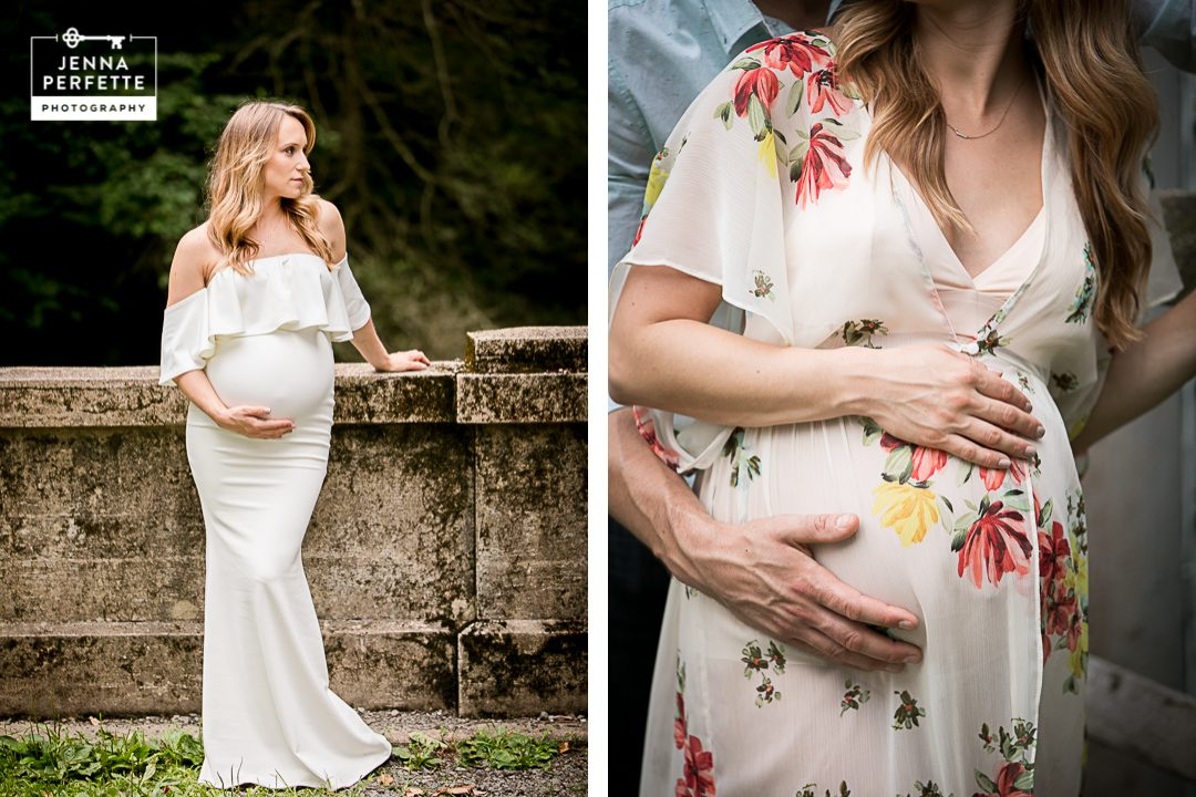 Natirar park in far hills maternity photography
