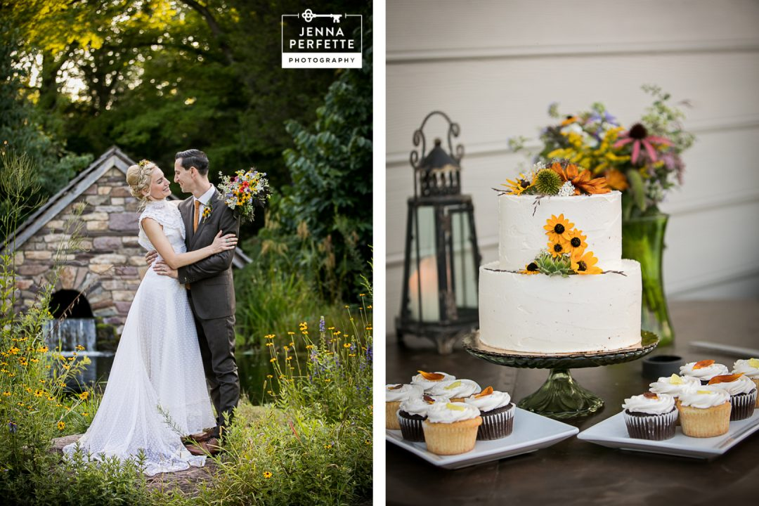 Bowmans Hill Wildflower Preserve new hope wedding 1