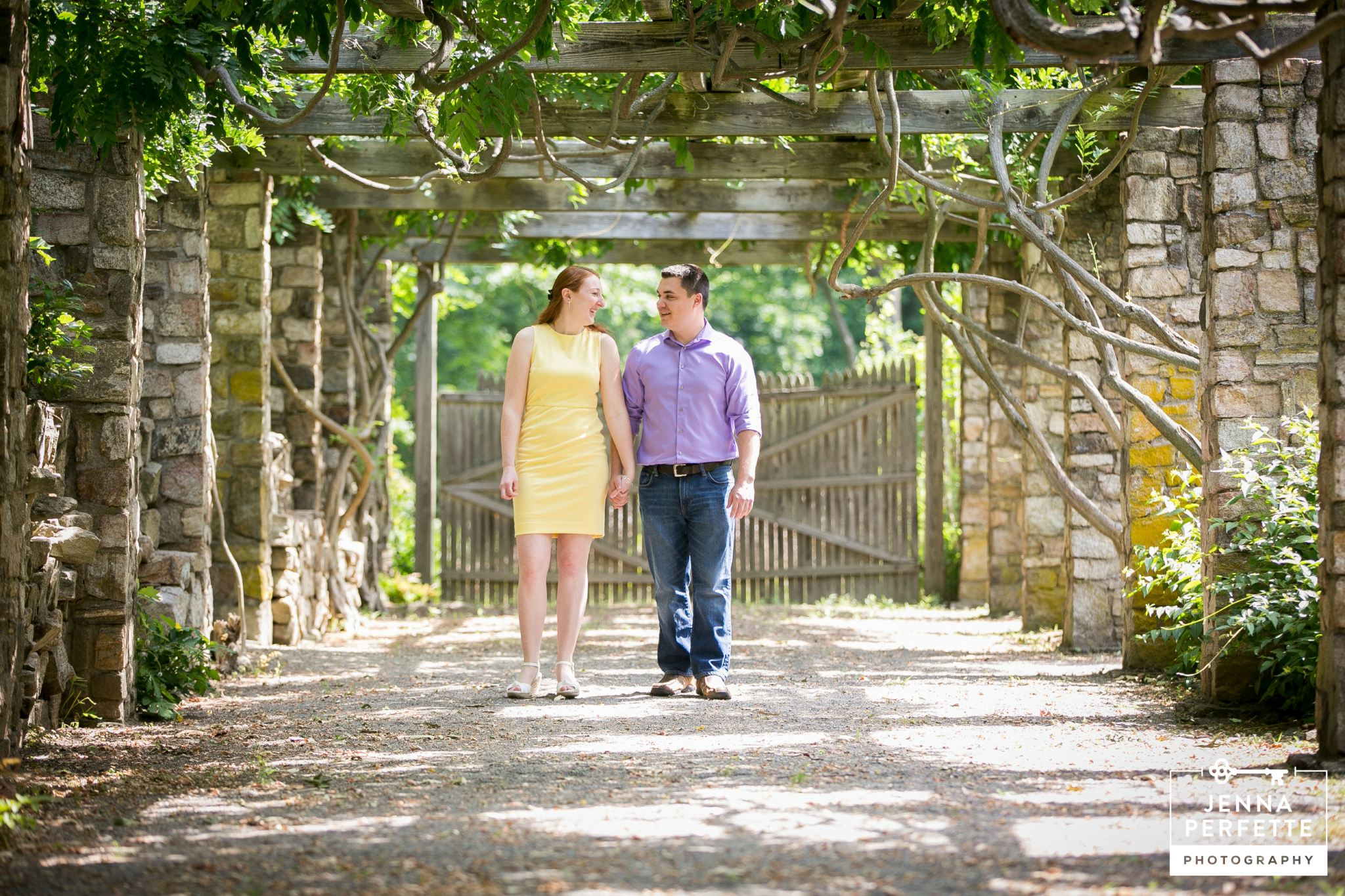 Choosing a location for your engagement session - parks farms wineries gardens in new jersey