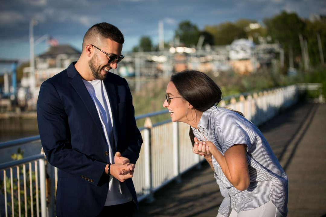 Surprise Proposal Red Bank NJ Photographer