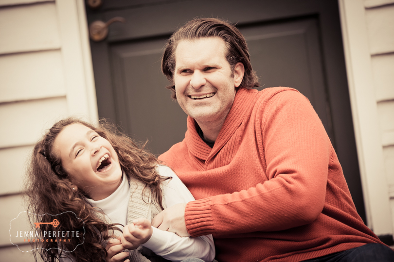 Casual Family Photography Session in Autumn NJ Backyard6