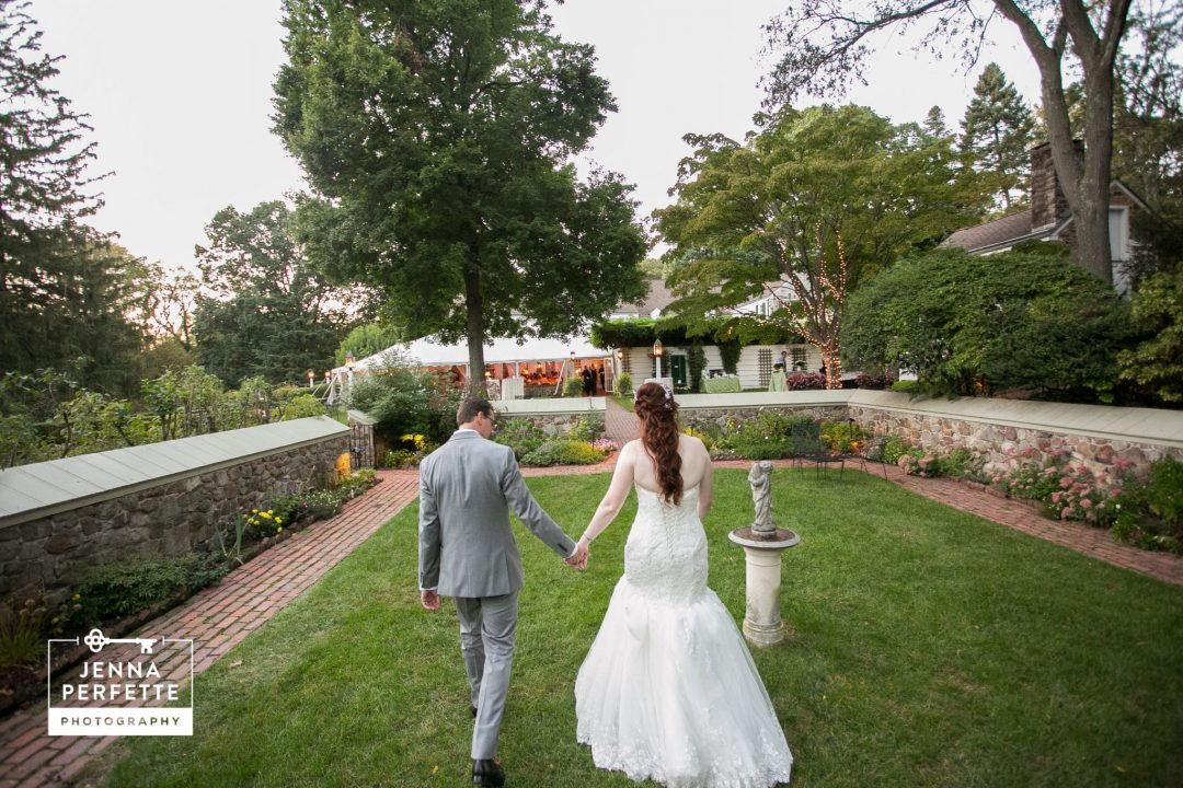 Outdoor Fall Appleford Estate Wedding Photos Jenna Perfette Jersey Photographer