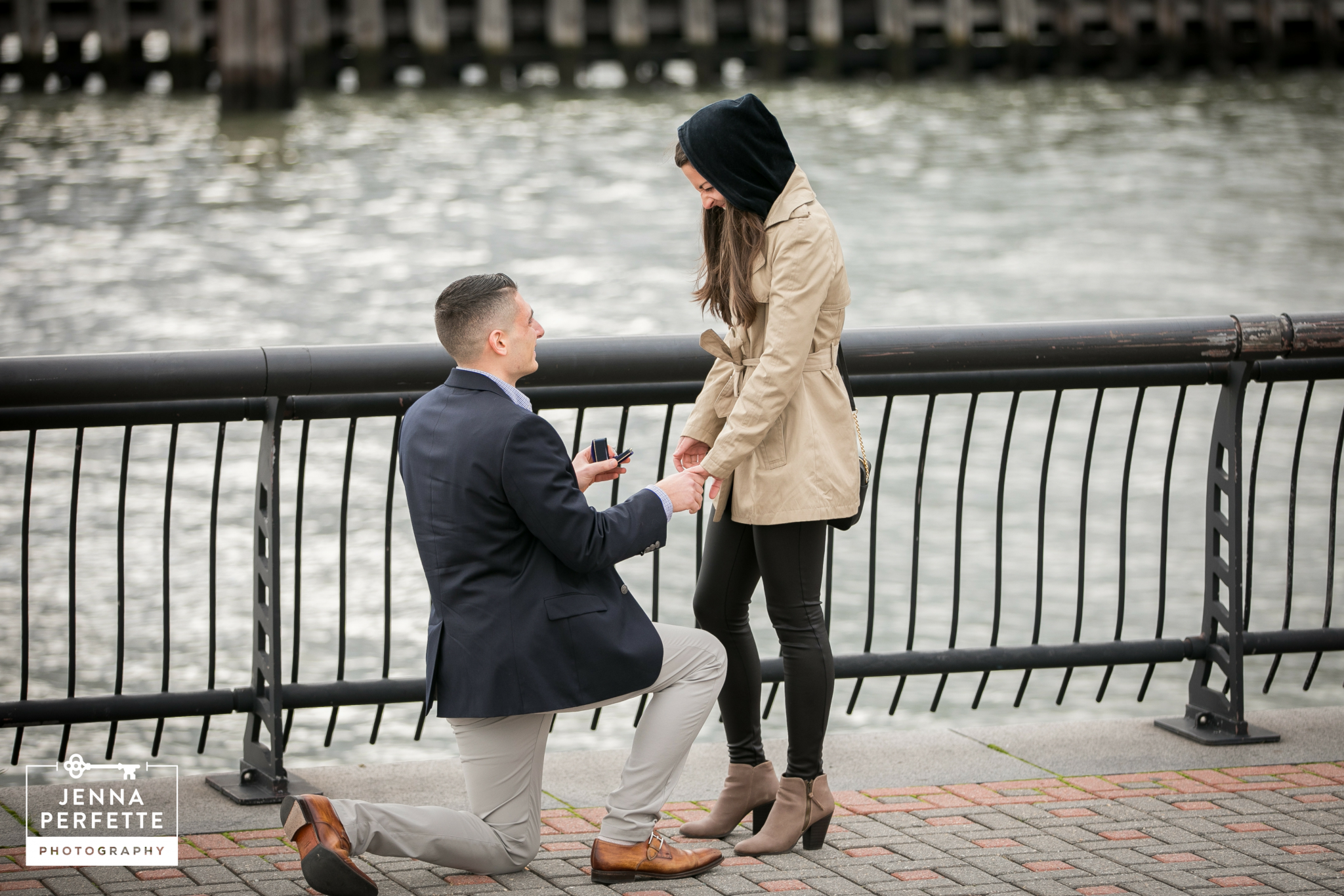 Hoboken Waterfront Proposal Photos Best New Jersey Photographer (3)