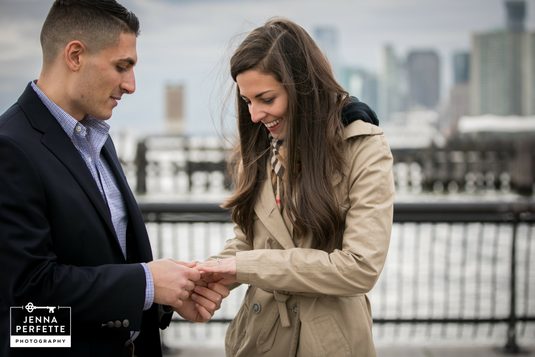 Hoboken Waterfront Proposal Photos Best New Jersey Photographer (7)