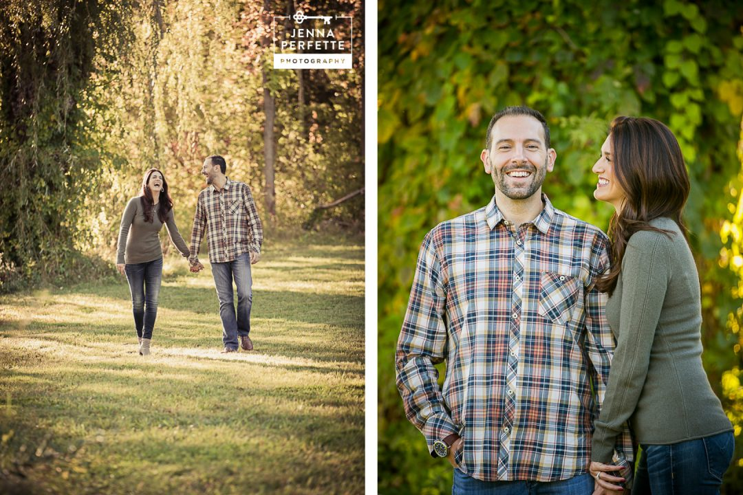 hackettstown engagement photography fall sunset-3