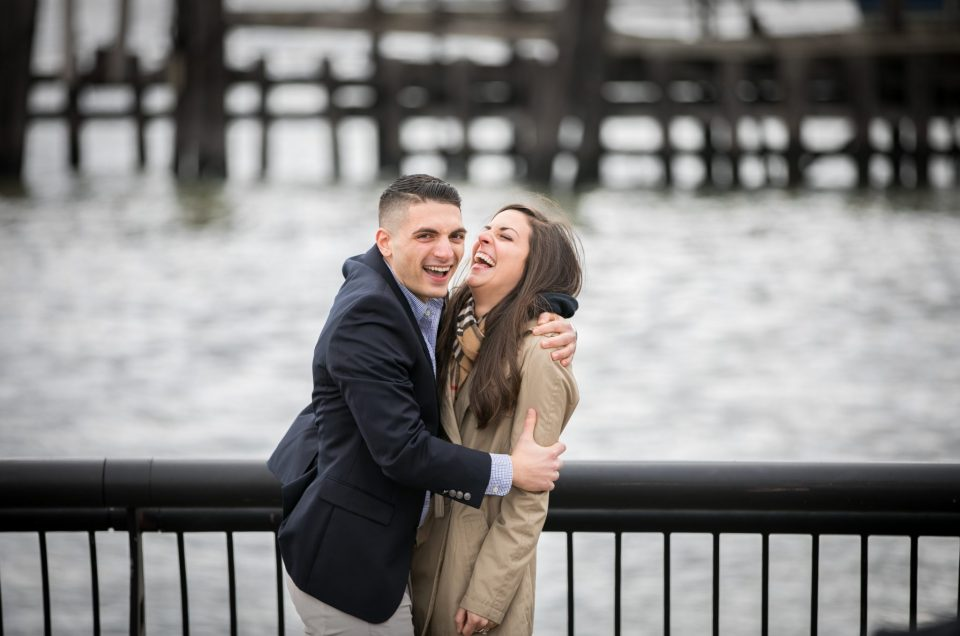 Anthony's Hoboken Waterfront Proposal to Lauren