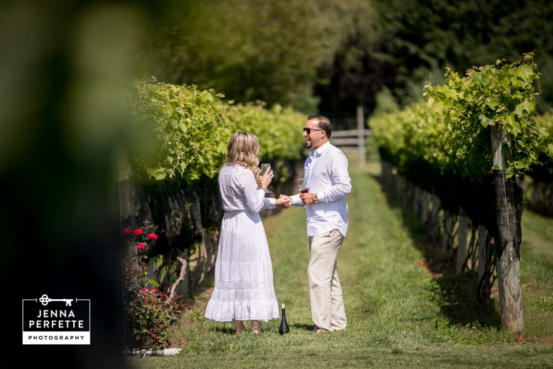 new jersey vineyard proposal photography beneduce pittstown nj