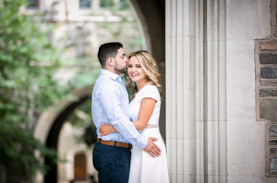 Natalie & Eddie – Princeton Engagement Session in Spring