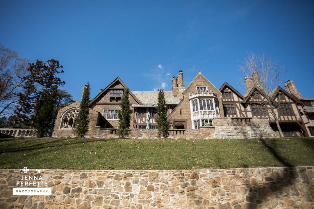 Glynallyn Castle Morristown New Jersey Unique Wedding