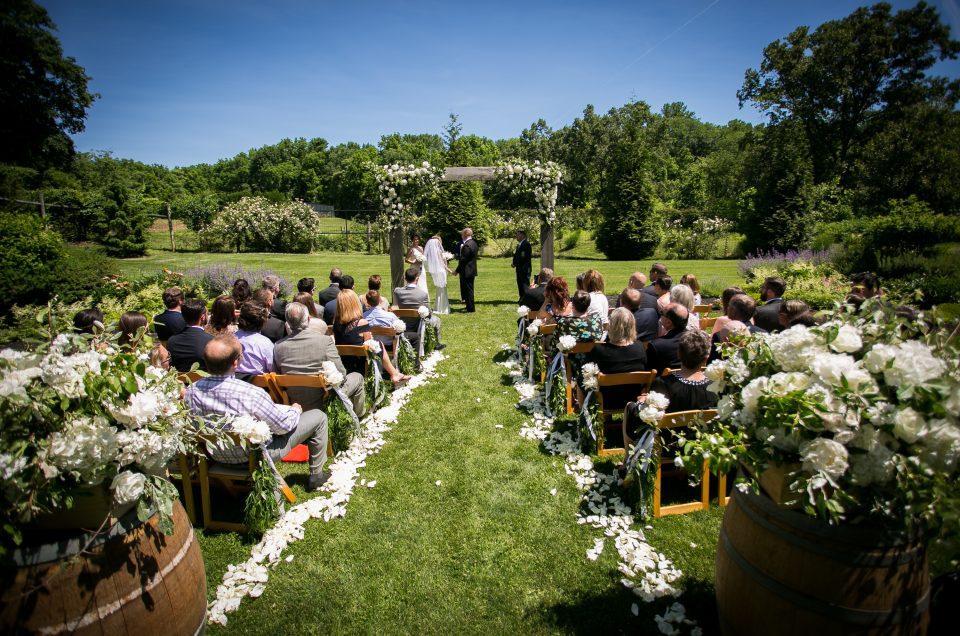 Kira & Sean – Intimate NJ Wedding at Ninety Acres
